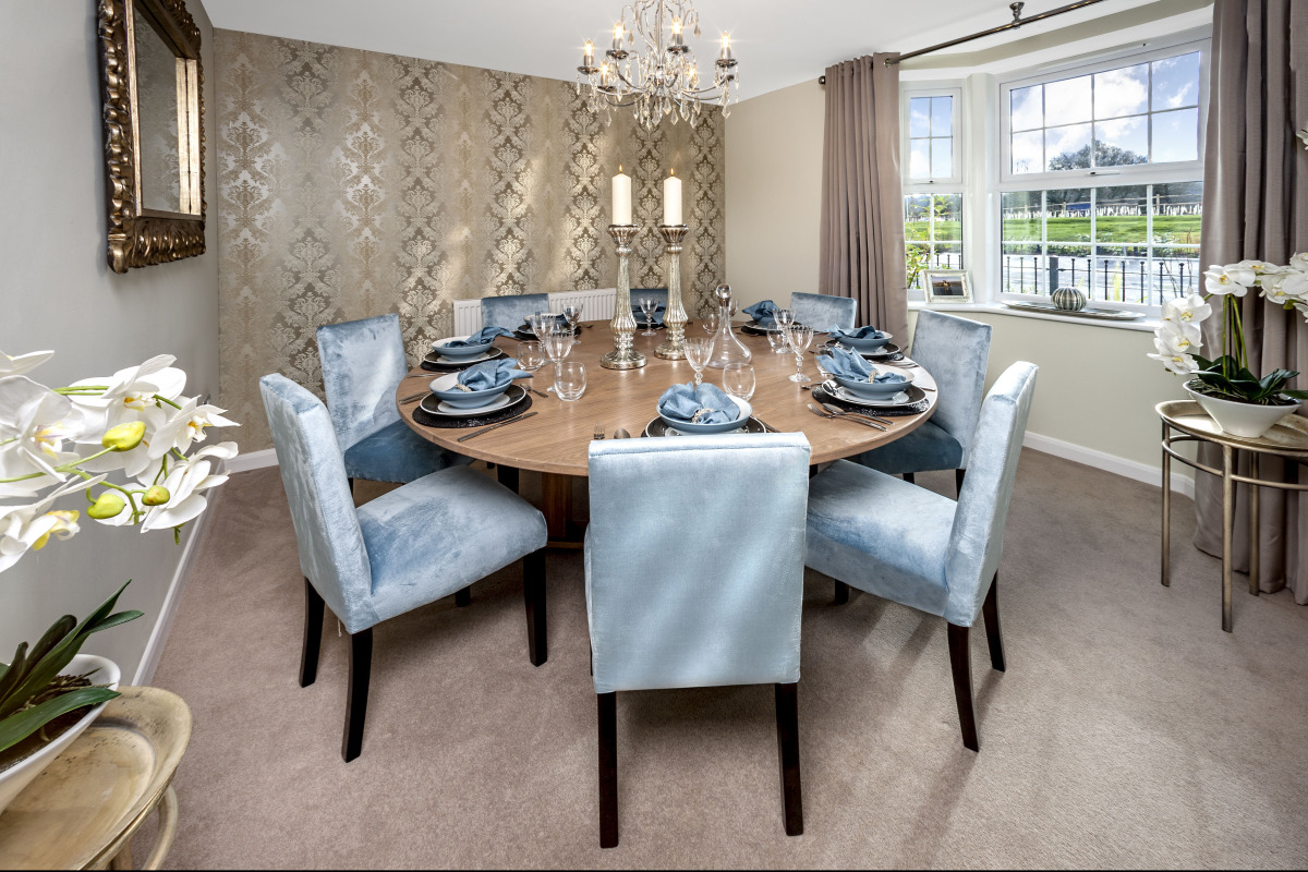 show home dining room | HomeSmiths | SOPHIE MCKENZIE